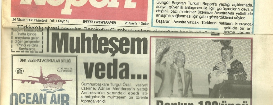 Turkish Report 26.04.1993